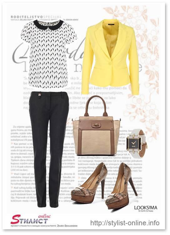 модный желтый цвет и как его носить 2