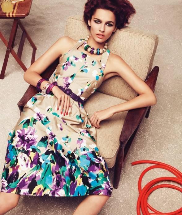 цветочный принт в моде