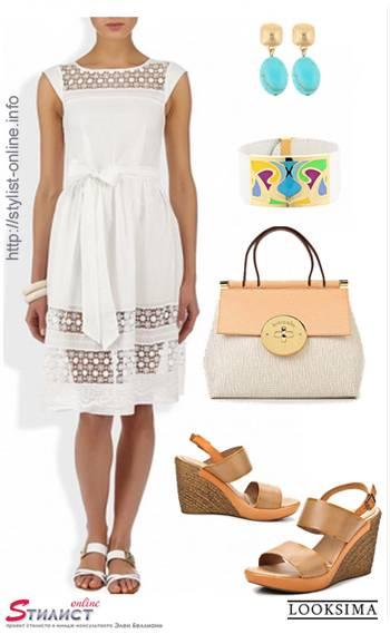 белые вещи в летних образах 4